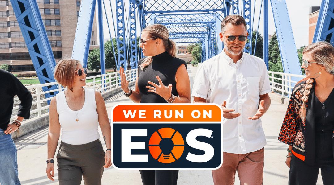 We run on EOS